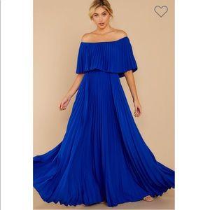 Like a song royal blue maxi dress